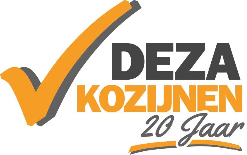 Deza Kozijnen logo 20 jaar fc