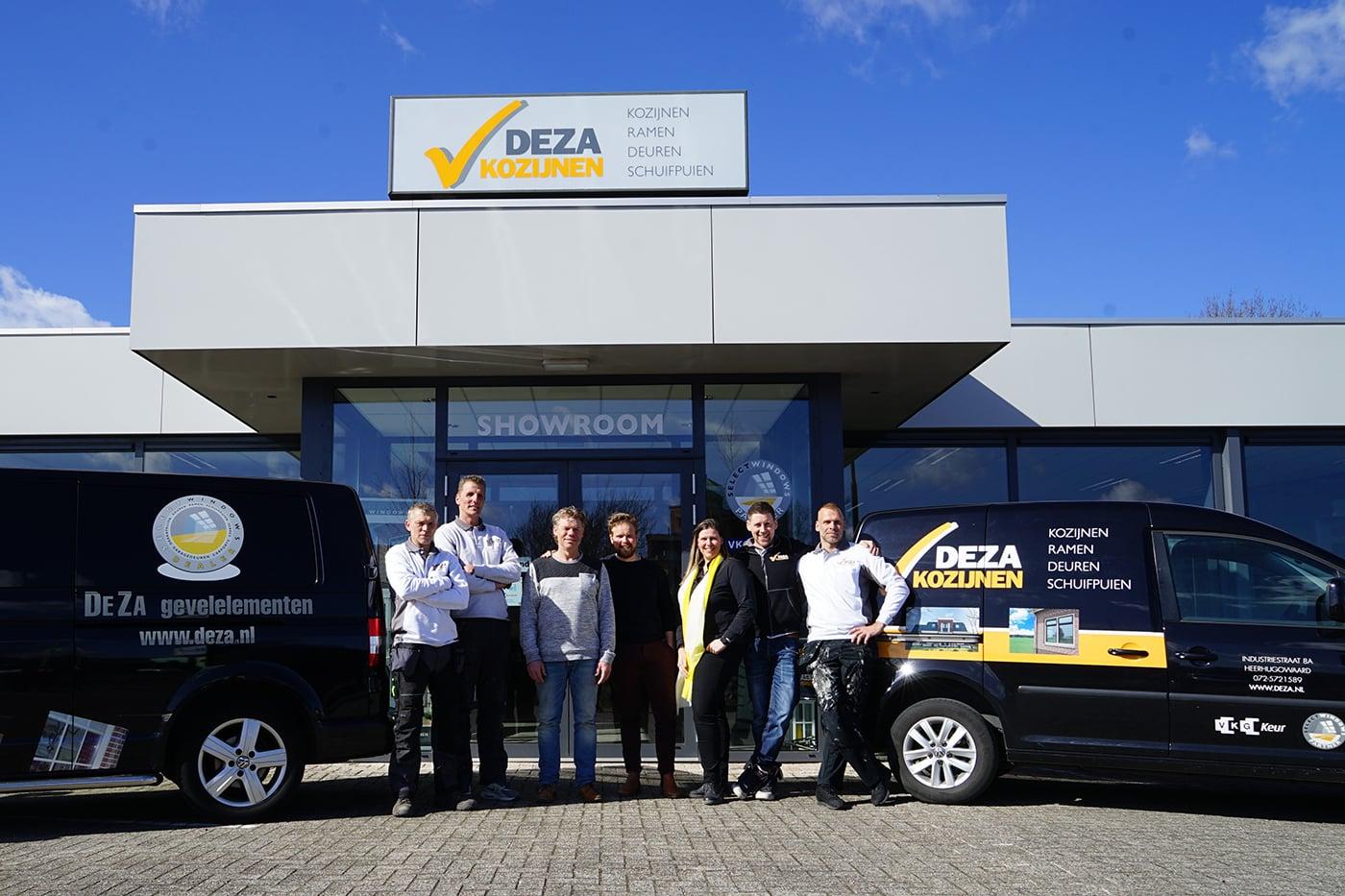 Deza kunststof kozijnen Heerhugowaard - team Deza
