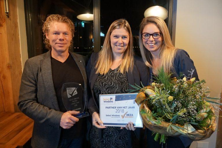Deza Kozijnen Heerghugowaard - Select Windows Partner van het Jaar 2018