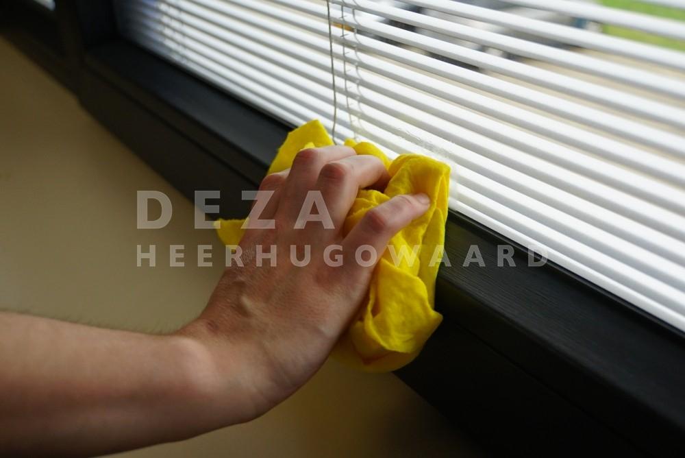 kunststof kozijnen schoonmaken
