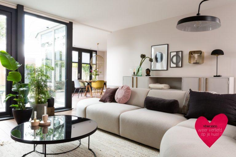 Deza kozijnen Heerhugowaard - verwarmd glas in kunststof tuindeuren bij vtwonen weer verliefd op je huis