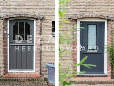 Deza kunststof kozijnen Heerhugowaard - Kunststof voordeur vtwonen winactie uitgevoerd door DeZa kozijnen - je zult maar een kunststof voordeur winnen