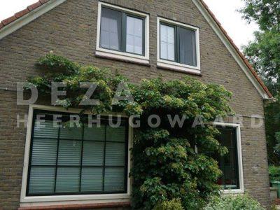 Deza kunststof kozijnen Heerhugowaard - Renovatie boerderij slootdorp - kunststof kozijnen, Verosol zonwering, dakkapel