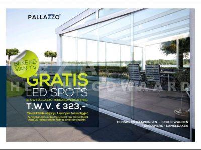 Deza Kozijnen Heerhugowaard - Ledspot actie terrasoverkapping veranda